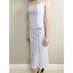David's Bridal Tea Length Dress Size 2